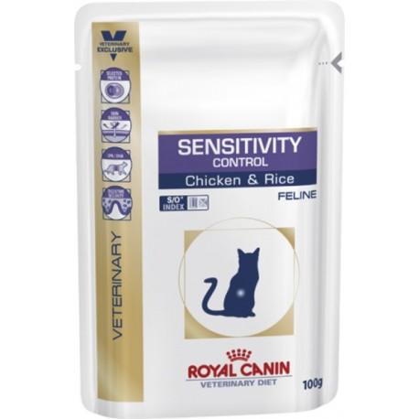 Royal Canin Sensitivity Control S/O-Роял Канин пауч для кошек при аллергии и пищевой непереносимости