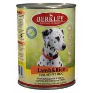 Berkley Lamb & Rice Adult Dog  Беркли консервы для собак Ягненок с рисом