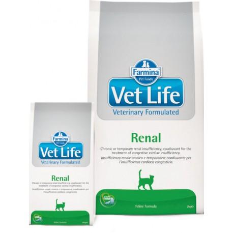 Farmina Vet Life Renal Фармина  диета для кошек при заболеваниях почек