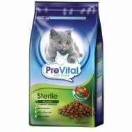 Prevital Sterile Сухой корм для взрослых стерилизованных кошек с птицей