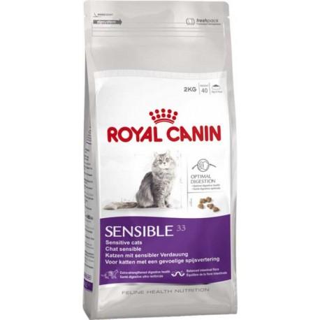 Royal Canin Sensible 33 - Роял Канин корм для кошек с чувствительным пищеварением